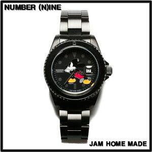 ORIGINAL COLOR【NUMBER (N)INE [ナンバーナイン] x JAM HOME MADE [ジャムホームメイド] Disney MICKEY WATCH ミッキー腕時計 TYPE-B】NJWD-WT002