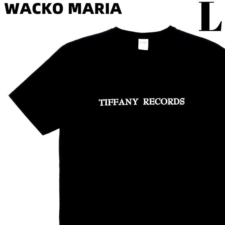 トップス, Tシャツ・カットソー L BLACKWACKO MARIA TIFFANY RECORDS WASHED HEAVY WEIGHT CREW NECK COLOR T-SHIRT T WACKOMARIA
