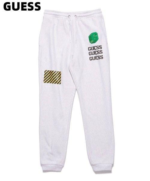 メンズファッション, ズボン・パンツ XL LIGHT GRAYGUESS x GENERATIONS LOGO SWEAT PANT x