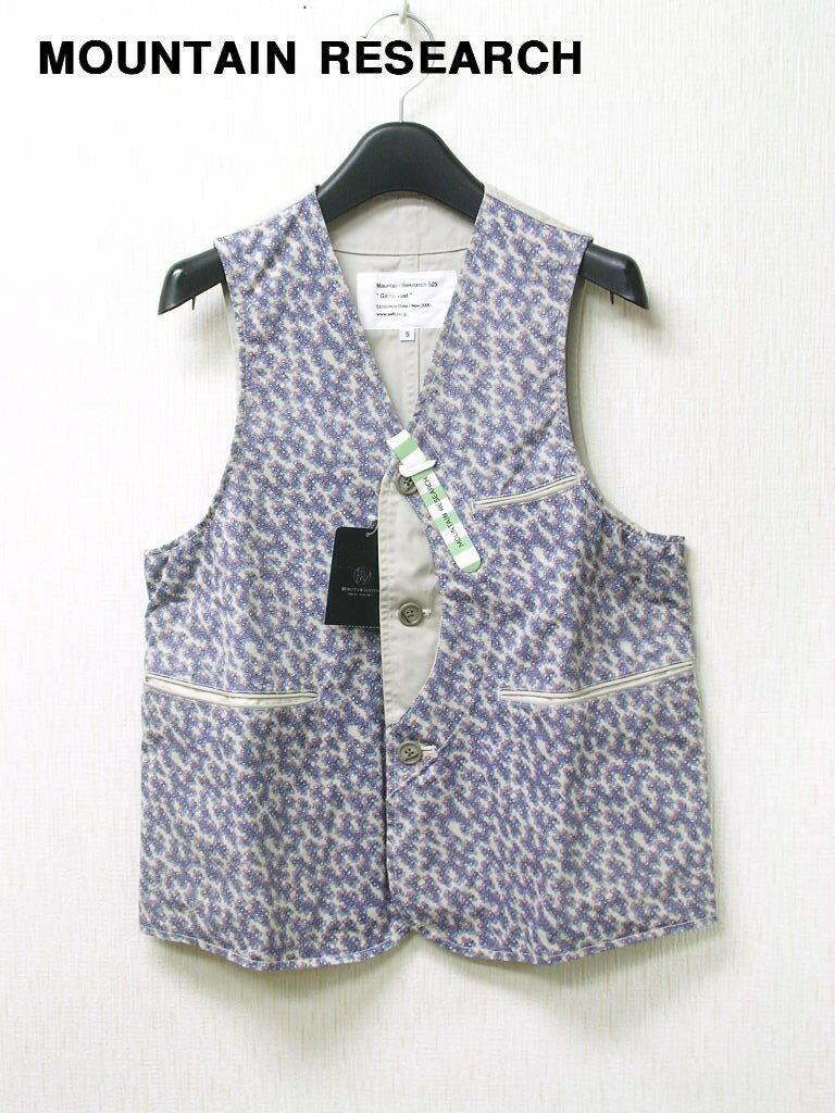 トップス, ベスト・ジレ S 29,400MOUNTAIN RESEARCH Game Vest BY