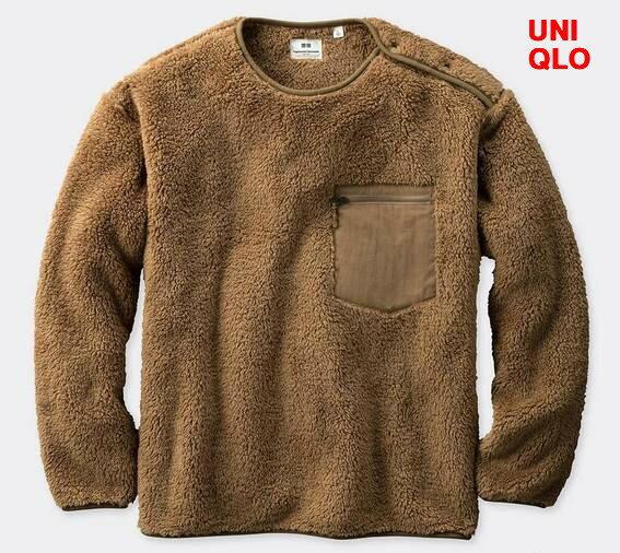 トップス, スウェット・トレーナー M BeigeUNIQLO x Engineered Garments x