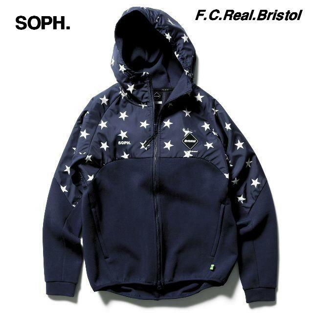 トップス, パーカー S NAVY18AW SOPH. FCRB VENTILATION HOODY F.C.Real Bristol