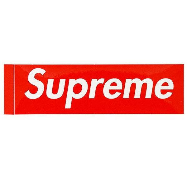 バッグ・小物・ブランド雑貨, その他 RED Supreme BOX LOGO Sticker BOX