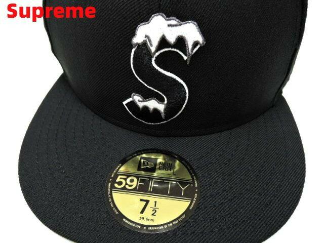 メンズ帽子, キャップ 7-12 BlackSupreme S Logo New Era S 2020AW 2020FW