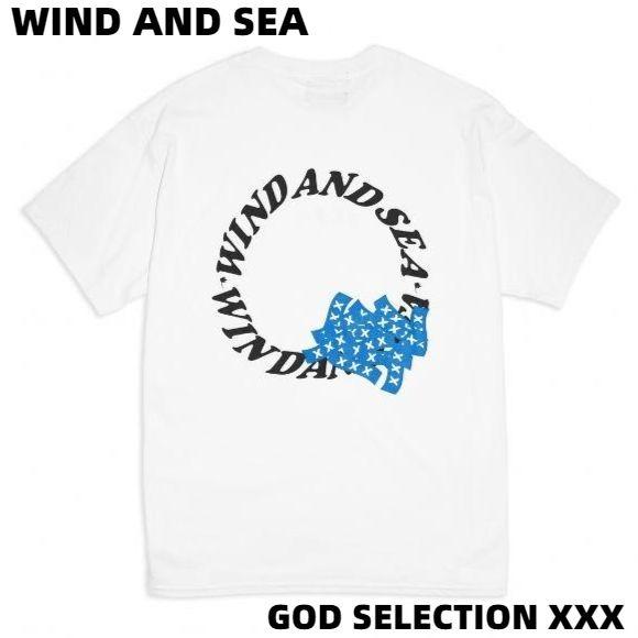 トップス, Tシャツ・カットソー LWIND AND SEA WDS XXX (circle-XXX) T-SHIRT (XXX-02) GOD SELECTION XXX T