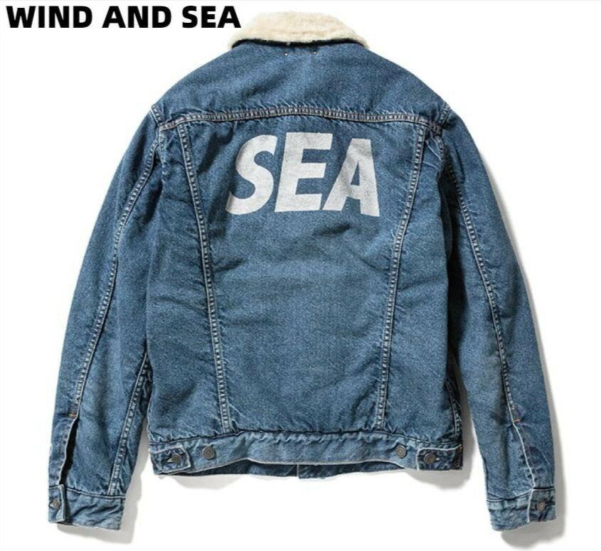 メンズファッション, コート・ジャケット L(3)WIND AND SEA MINEDENIM WIND AND SEA DENIM BOA GJKT INDIGO (20MND-WAS001) X G 2020AW