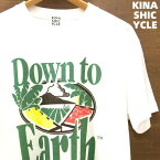XL【木梨サイクル KINASHI CYCLE Tシャツ (Down to Earth x 木梨サイクル) White 白 ホワイト Hawaii ハワイ 木梨憲武着】