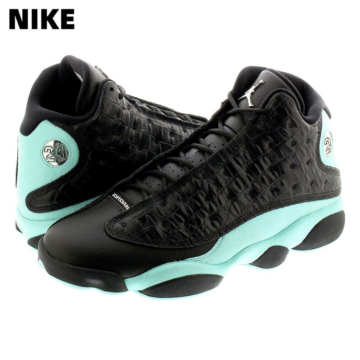 メンズ靴, スニーカー 9.5(27.5cm) NIKE AIR JORDAN 13 RETRO 414571-030 BLACKMETALLIC SILVER 13