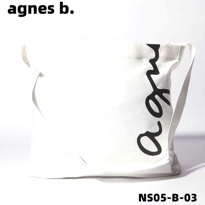 男女兼用バッグ, ショルダーバッグ・メッセンジャーバッグ  WHITEagnes b. NS05B03