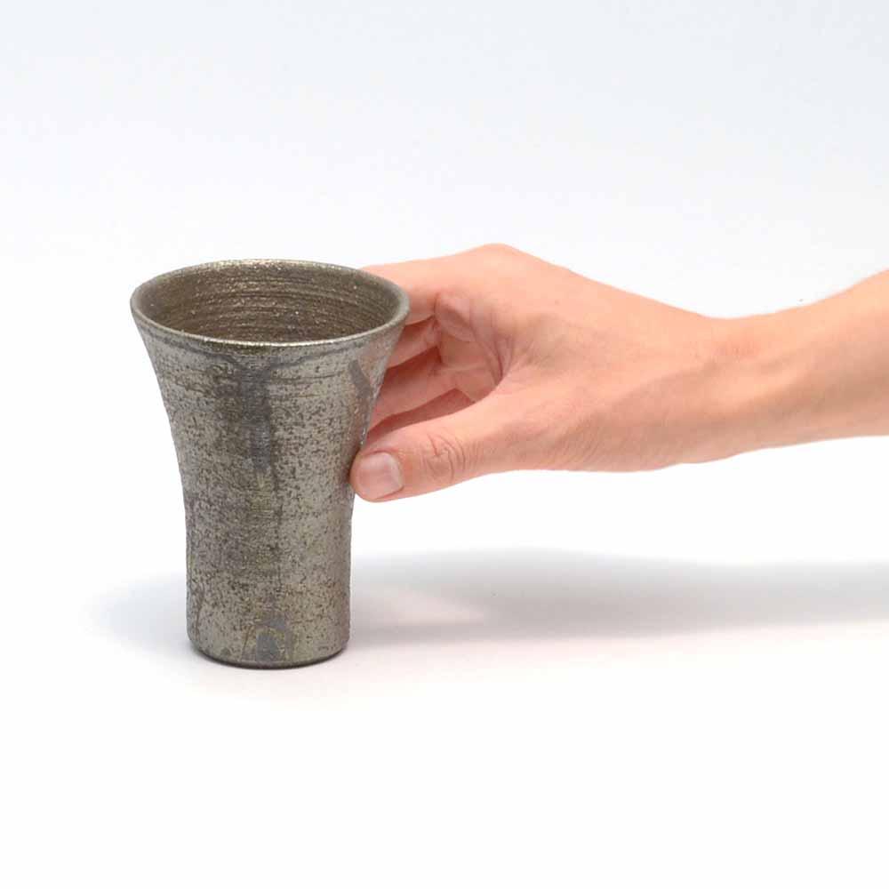 へちもん 銀錆 フリーカップ
