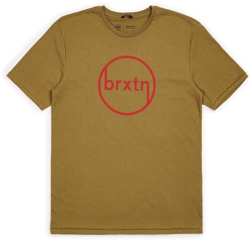 トップス, Tシャツ・カットソー Brixton Orville T-Shirt Dusty Blue M T