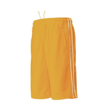 ウンドウ wundou パイピングハーフパンツ P2080-55 ゴールドオレンジ