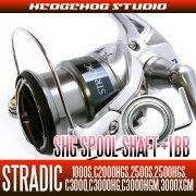 ヘッジホッグスタジオ ストラディック スプール シャフト チューニングキット プレミアム ベアリング
