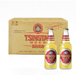 ●チンタオビール [青島麦酒] プレミアム 24本 [1ケース]  国賓用ビール  [グルメギフト、内祝に最適]【父の日におすすめ】