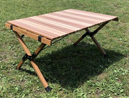 アノバ ウッドロールテーブル
