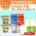 たのはた牛乳・ヨーグルトAセット(TK-1)