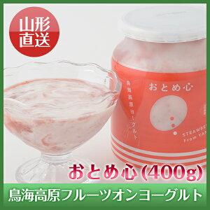 山形県酒田から作りたてを直送!!鳥海高原フルーツオンヨーグルトフルーツ選べる3種セット