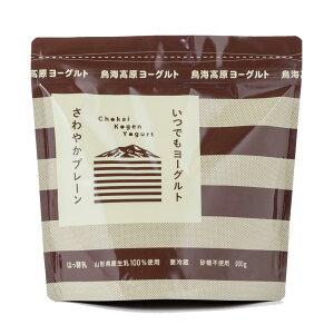 ふんわり、もっちり食感!山形県酒田から作りたてを直送!!鳥海高原ヨーグルト無糖1kg