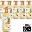 (55)100%スムージーバナナ&パイン&ココナッツ180g×30本入
