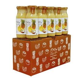 (55)100%スムージーバナナ&パイン&ココナッツ180g×10本入