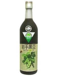岩手県産黒豆使用かわいブラックビーンズ720ml