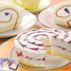 [久慈市]山ぶどうチーズケーキ&ロールケーキセット