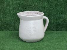 【送料無料】FRPハンドルカッププランター23ホワイト「1.5g」