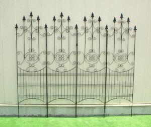 ポイント デラックス アイアンデザインフェンス ガーデン フェンス