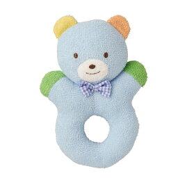 知育玩具 mikiHOUSE (ミキハウス) どうぶつラトル ブルー