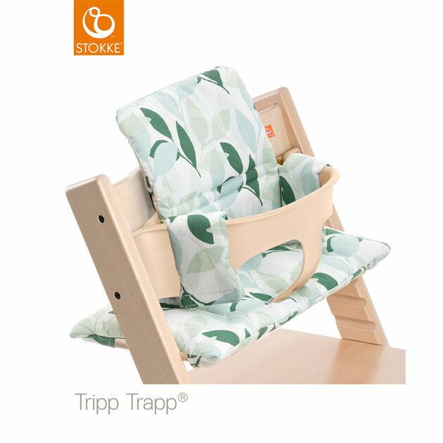 【】ベビーチェアオプション Stokke Tripp Trapp Cushion(ストッケ トリップ トラップ クッション撥水) グリーンフォレスト【コンビニ受取対応商品】