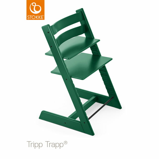ベビーチェア Stokke Tripp Trapp(ストッケ トリップ トラップ) フォレストグリーン