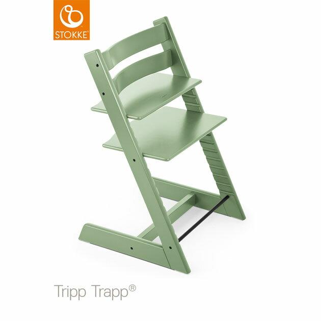 ベビーチェア Stokke Tripp Trapp(ストッケ トリップ トラップ) モスグリーン