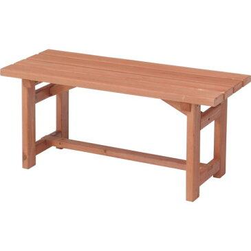 1〜2人用ベンチ 天然木 ガーデン チェア ベンチ アウトドアー 長椅子 木製ベンチ ★木製ベンチ90 DIY【02P03Dec16】
