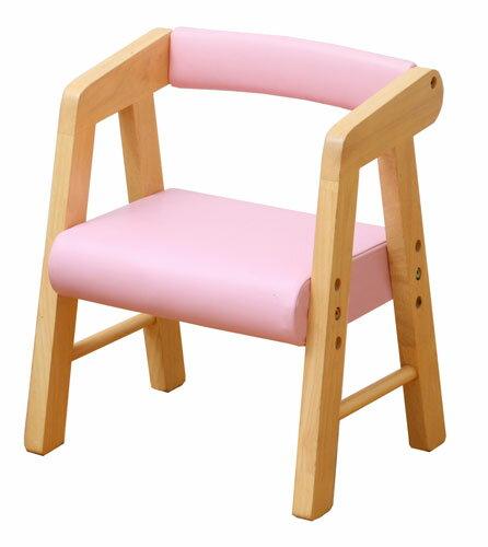 アイボリー・ピンクの色がかわいい肘付きの椅子 かわいいキッズ用いす 椅子 肘付きで、お子様のお尻をすっぽり包んでくれます KDC-2401キッズPVCチェア(肘付き)【春の新生活フェア】【02P03Dec16】