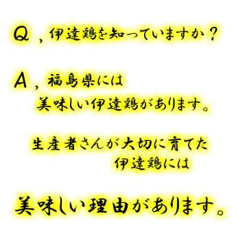 伊達鶏質問