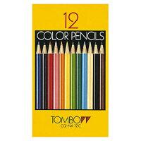 【メール便対応】トンボ鉛筆色鉛筆紙箱12色CQ-NA12C