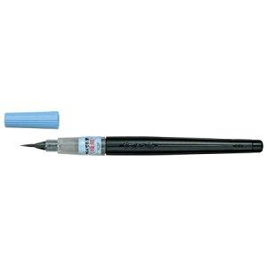 【メール便対応】ぺんてる 筆ペン ぺんてる筆(染料インキ) 極細 XFL2F