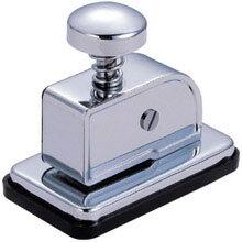 紙で紙を綴じる、針のいらないステープラー!【メール便不可】リヒトラブ ステープレス M-5