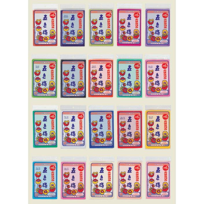 【メール便対応可能/6冊まで】五色鶴 お花紙(おはながみ) 100枚入