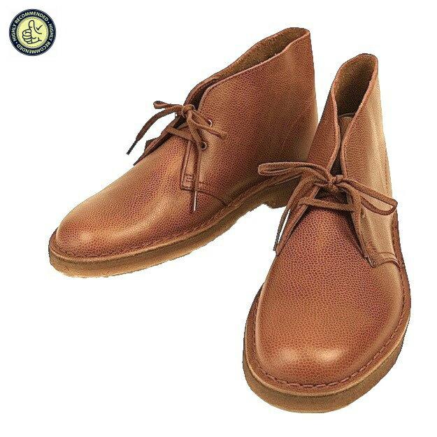Clarks ORIGINALS クラークス オリジナルズ 2035 6327 Desert Boot Horween Tan Interest Leather メンズ デザートブーツ ホーウィン タンレザー 紐靴