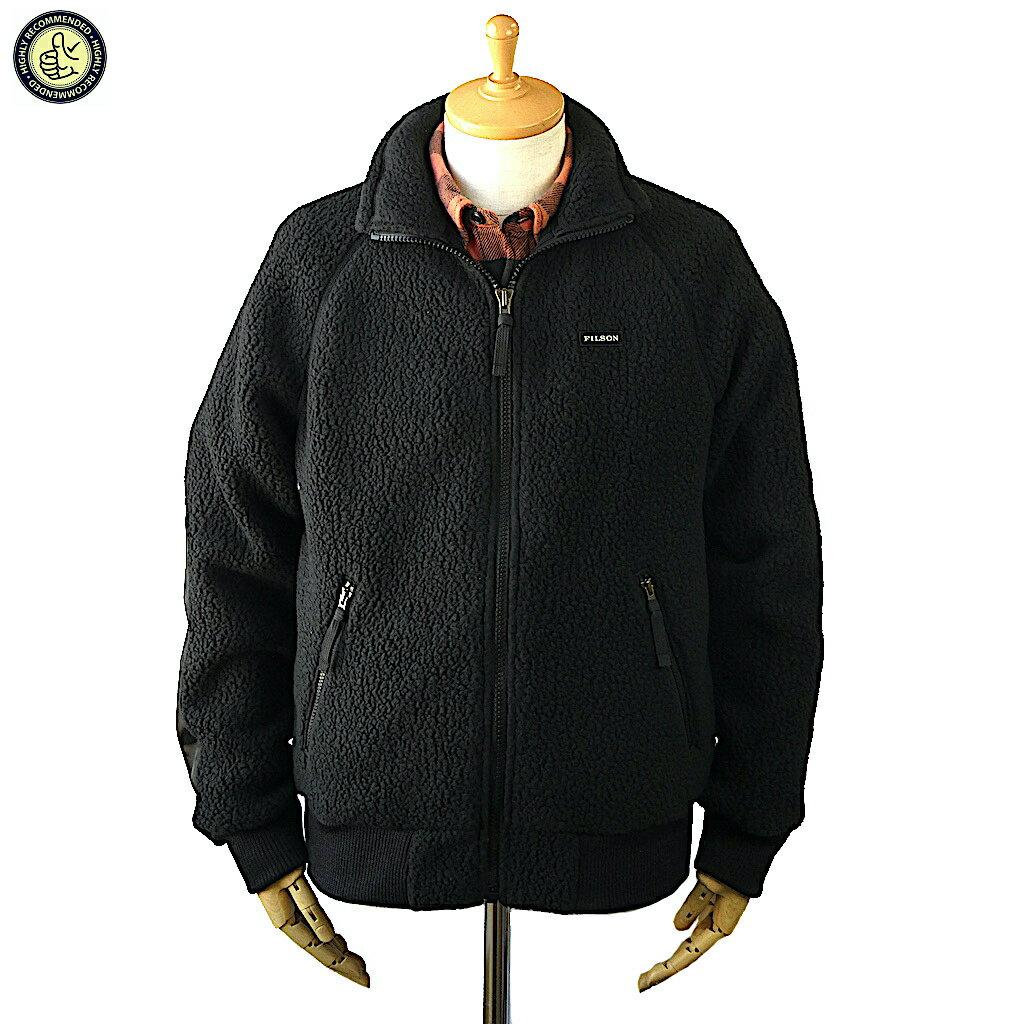 メンズファッション, コート・ジャケット FILSON 20117928 SHERPA FLEECE JACKET BLACK 2020