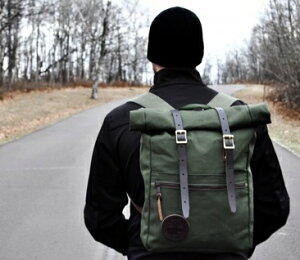 DuluthPackダルースパックRoll-TopScoutロールトップスカウトバックパックOliveDrabリュックサックデイパックアメリカ製