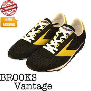BROOKS レトロランニングシューズの代表作 VantageBROOKS【ブルックス】Vantage Black / Vibra...