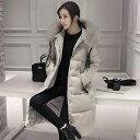 美スタイル 中綿コート ロングコート レディース ファー ロングジャケット コート 毛皮コート 162159
