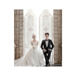 豪華な超ロングウェディングドレス花嫁ドレス5点セットレース刺繍結婚式披露宴二次会レディース3714101501