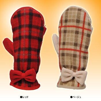 81e52f5fc158e6 カイロが入る手袋(ミトン・グローブ) カイシオン カジュアルシリーズ 女性用 チェック柄フリース スマホ対応(指が出るタイプ)の解説 カイロが 入る手袋カイシオンの ...