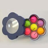 フラワーボール ゴルフボール(7色入り)[golf balls][ゴルフコンペ景品 ゴルフコンペ 景品 賞品 コンペ賞品][ゴルフ用品 グッズ ギフト プレゼント]