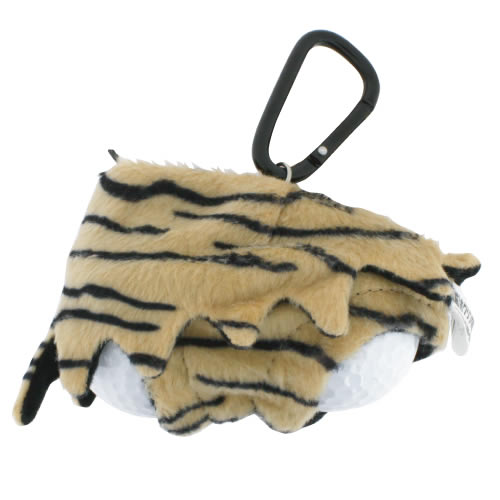 Cute & Funny Tiger Pattern Panty Golf Ball Holder  ( Holds Up To 2 Balls)