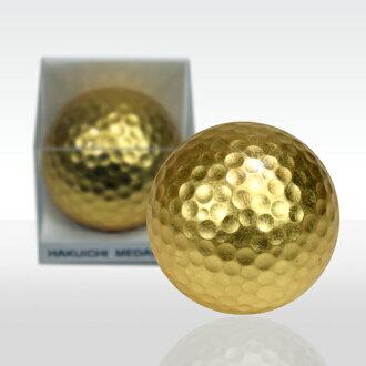 Gold Leaf Golf Ball (Pack of 1, Kanazawa Japan gold leaf)