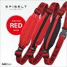 SPIBELT BASIC(スパイベルト ベーシック) Rd レッドカラーベルト SPI-012 国内正規品 アルファネット[ウエストバッグ ウエストポーチ ランニング ウォーキング マラソン]